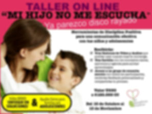 taller de comunicación asertiva, disciplina positiva