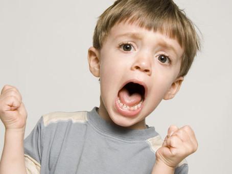 Tu hijo tiembla de la ira? que bien!