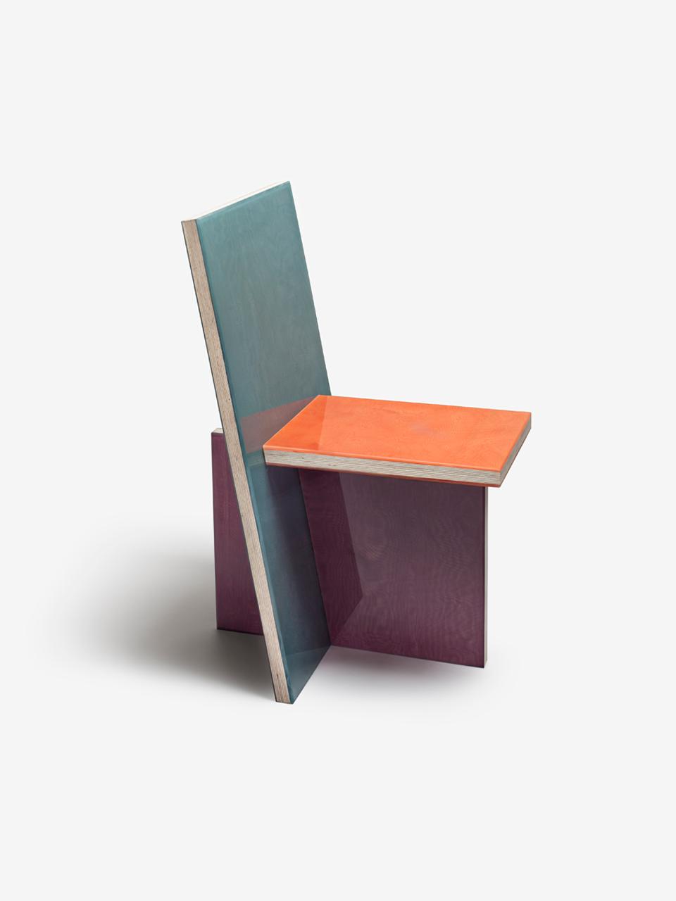 Moire chair 3-01