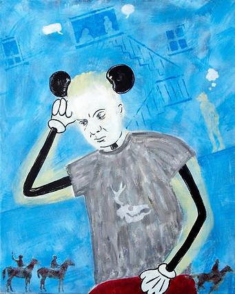 Autoportrait dérisoire