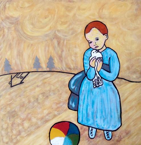 L'enfant au pigeon