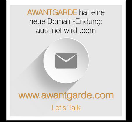Aus .net wird .com