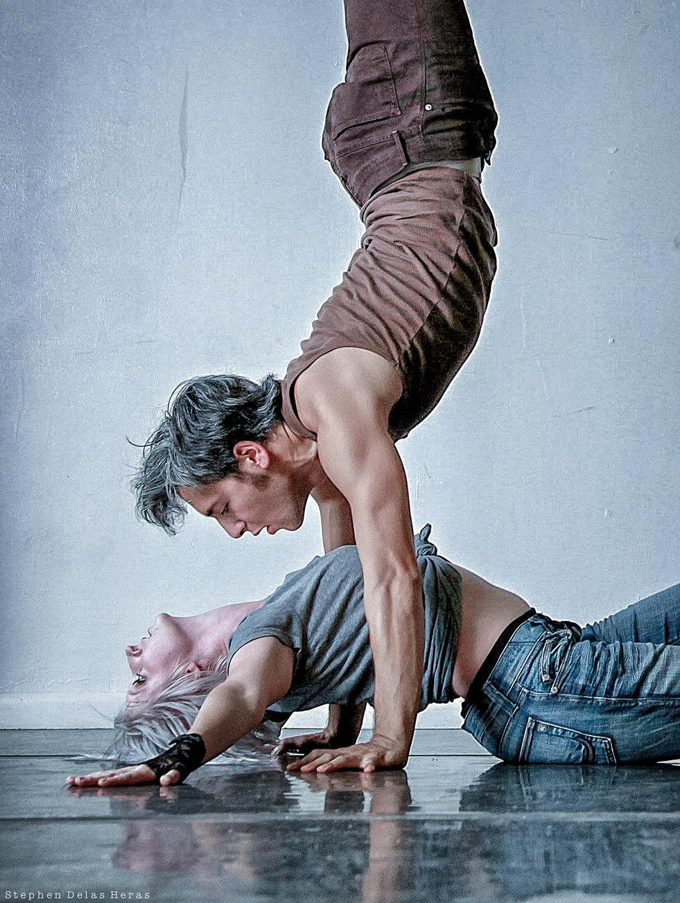 Quincy Ellis & Stephanie Jingle, dancers