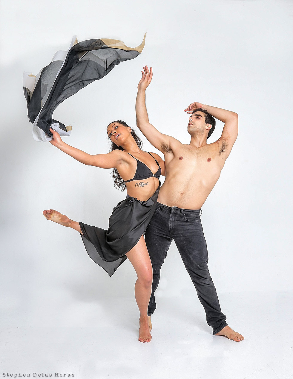 Lonnie Stanton and Frank Leone, dancers