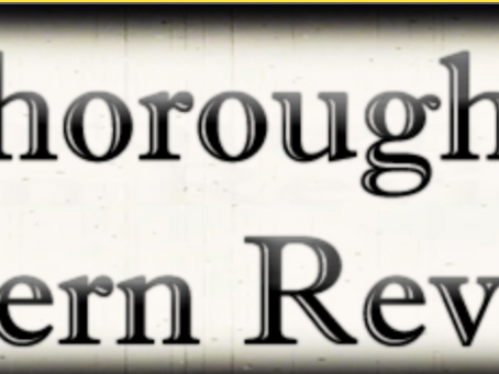 Book Review from Thoroughly Modern Reviewer
