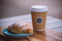 Take away Coffee and Pastries