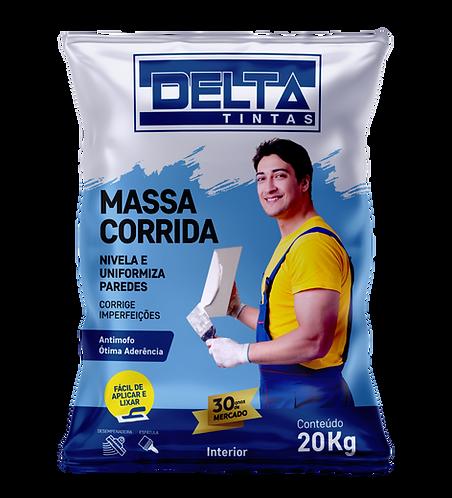 MASSA CORRIDA DELTA - Parede Interna Que Receberá Tinta