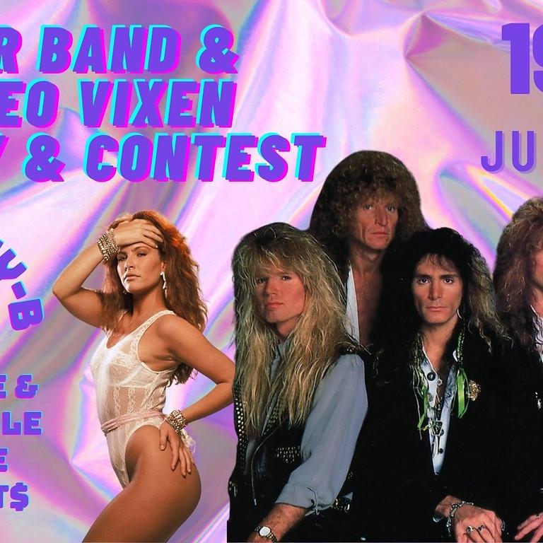 Hair Band & Video Vixen Party