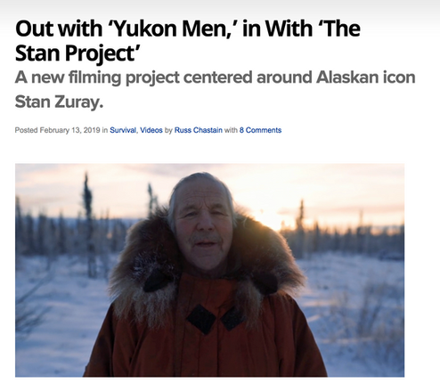 AllOutdoor.com artical about The Stan Project