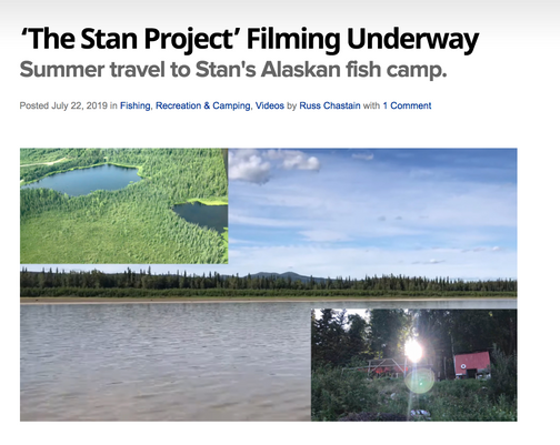 AllOutdoor.com article about The Stan Project filming underway