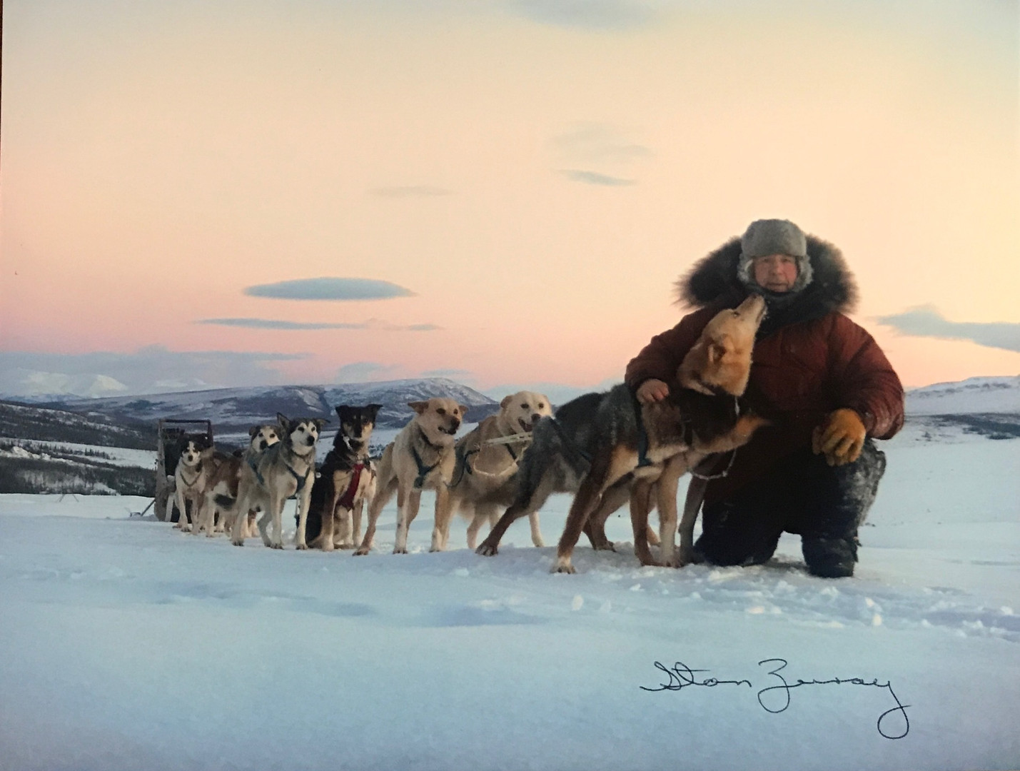 Autographed Picture of Stan and Dogs.jpg
