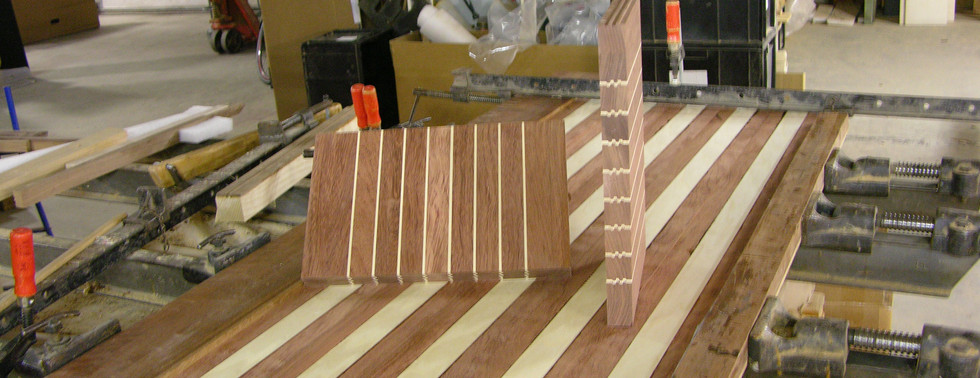 Hardwood combination of Ash and Walnutt