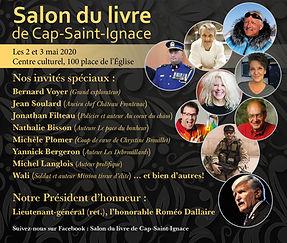 Annulé! Salon du livre Cap-Saint-Ignace