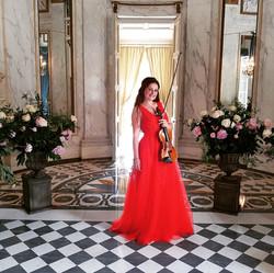 Euterpe Violinist has been featured in French Wedding Style!!