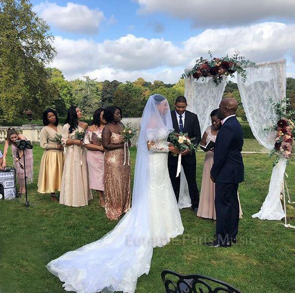 Wedding ceremony in Chateau Bouffémont , bride, groom, arche, décoration, wedding ideas, luxury wedding