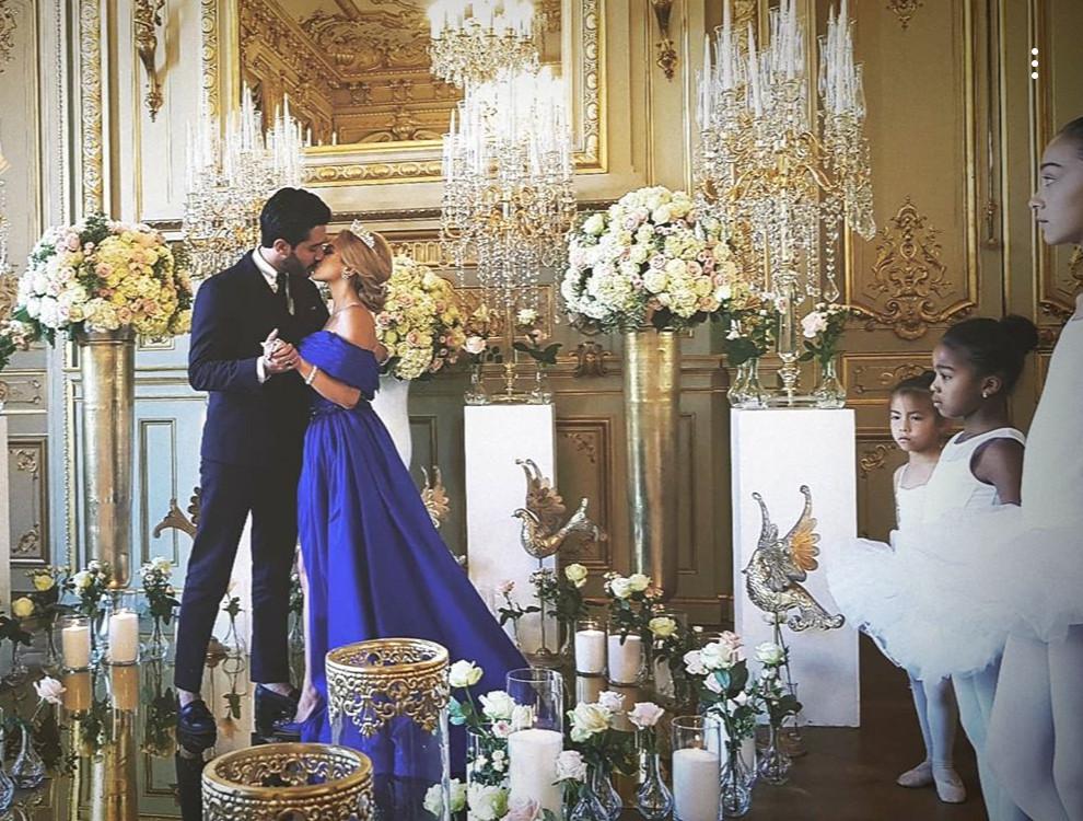 Wedding Proposal Paris Shangri La Palace Ballerine Event luxury wedding palace Parisian style