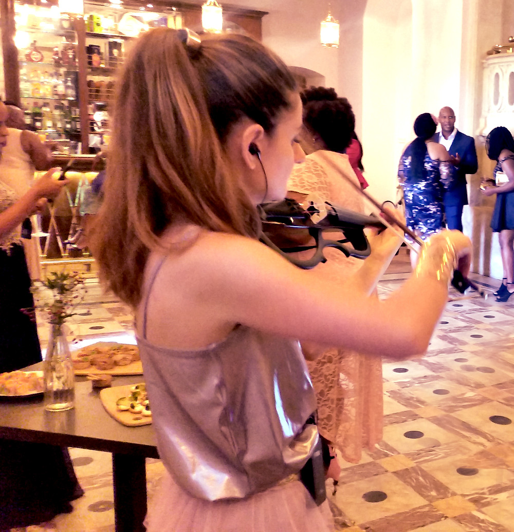 Event music in Chateau Bouffemont  yamaha violin wedding wedidng music