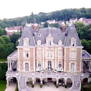 Cérémonie de mariage et vin d'honneur au château...