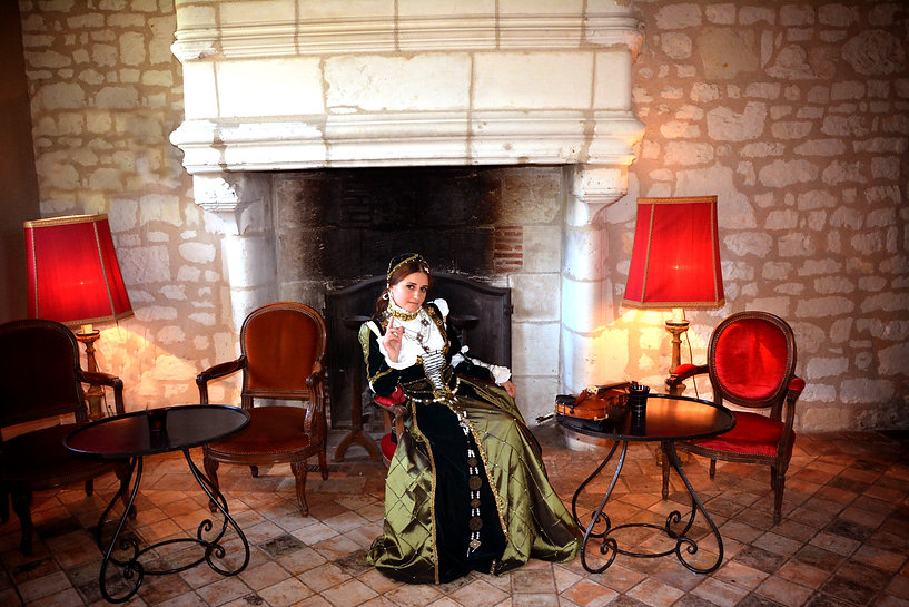 Renaissance Period Costume Violinist Paris