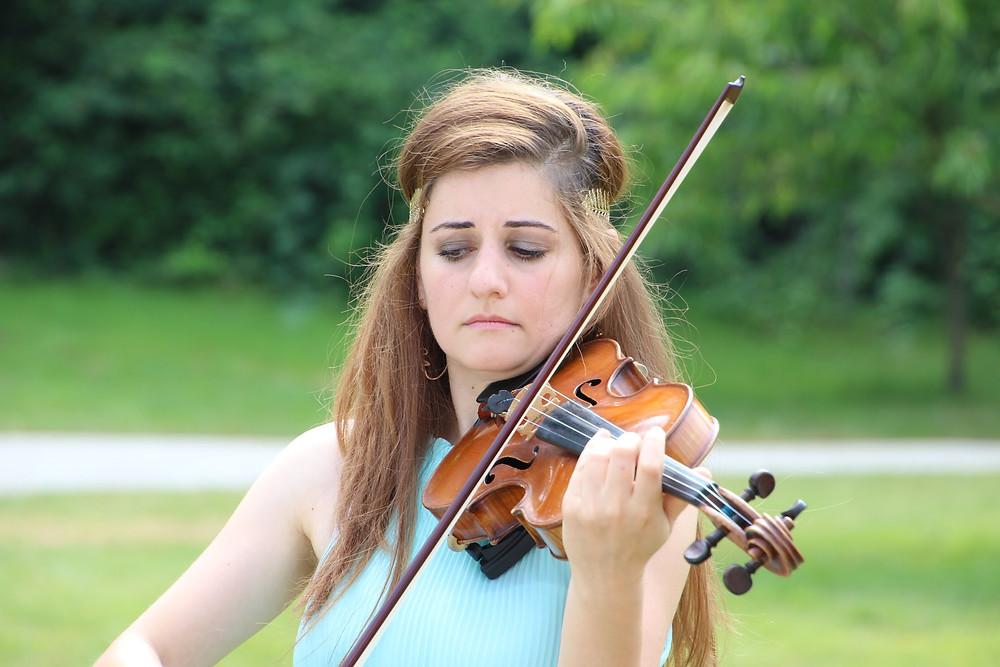 violoniste euterpe, mariage musique, musique mariage, musique classique mariage, chateau