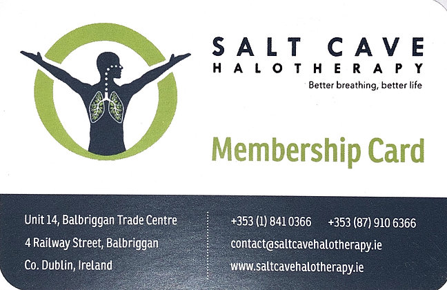 5 Sessions Membership card  2 adults and 1 child