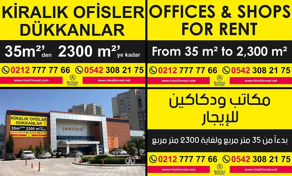 offices for rent in istanbul