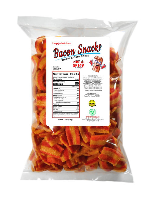 HOT & SPICY BACON