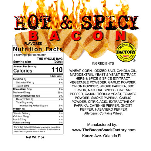 Hot & Spicy Bacon