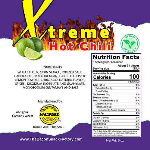 EXTREME HOT CHILE