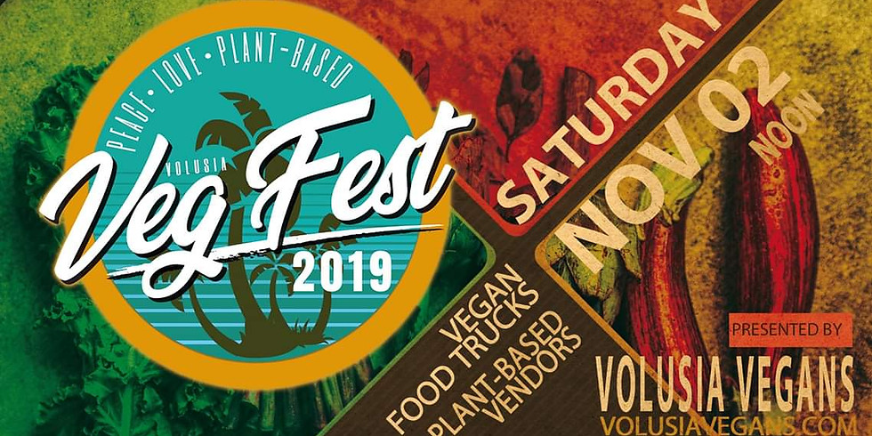 Volusia VegFest 2019 - Saturday, November 2, 2019