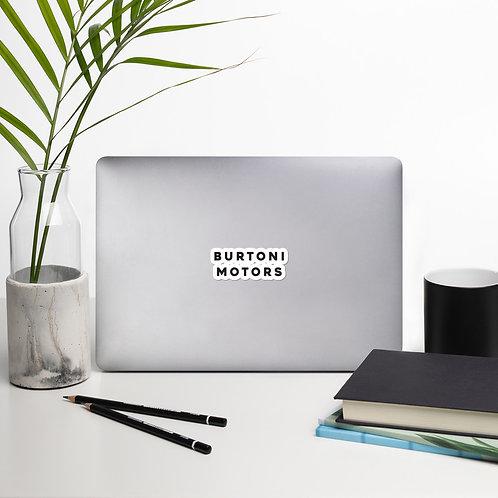 Burtoni Motors Stickers