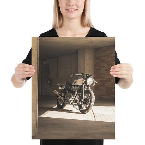 Royal Enfield on Premium Luster Poster