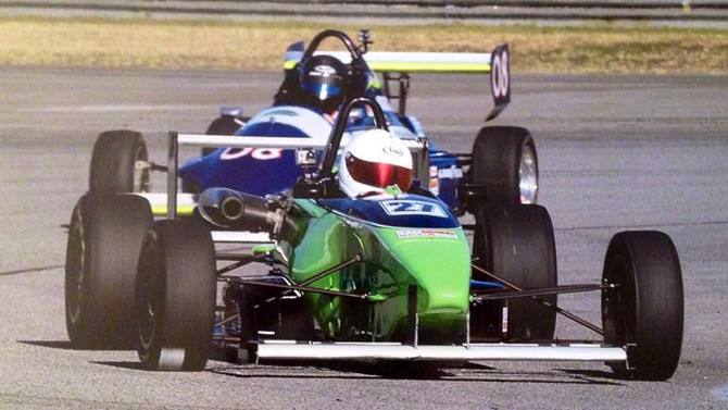 Andrew wins Round Two of F2000 Series at Fontana