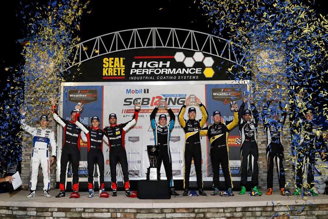 Andrew Evans Wins The Twelve Hours of Sebring