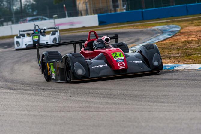 Andrew concludessuccessfulIMSAPrototype Lites Pre-Season Test at Sebring International Raceways