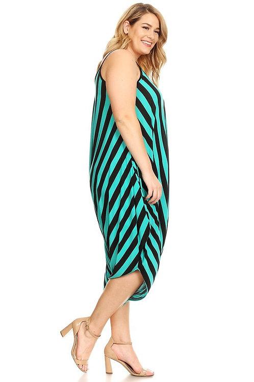Green stripe jumper