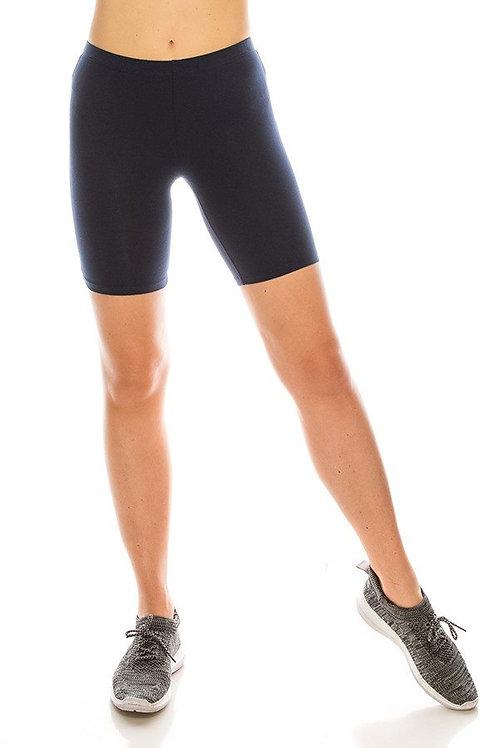 navy biker shorts