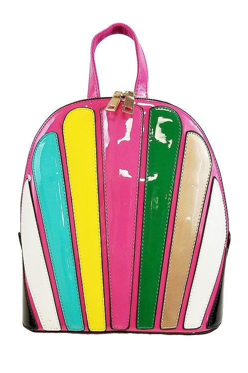 multicolor back pack