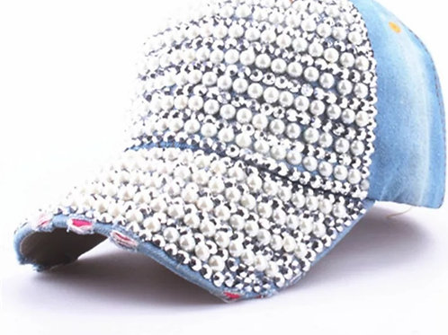 denim pearl and diamonds