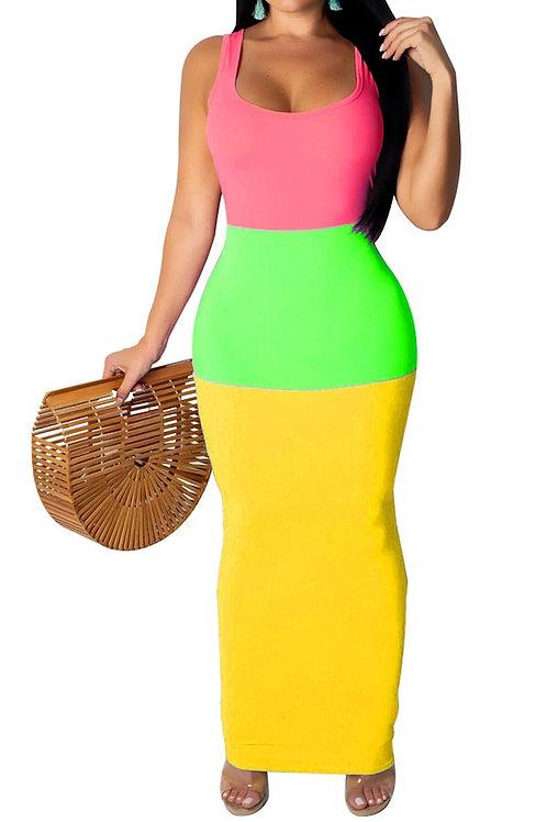 3 color dress