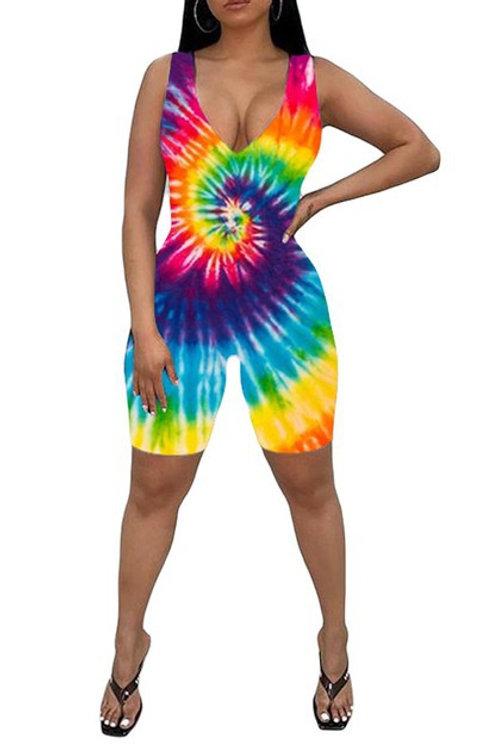 tie dyed bodysuit
