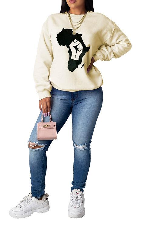 Cream fist sweater