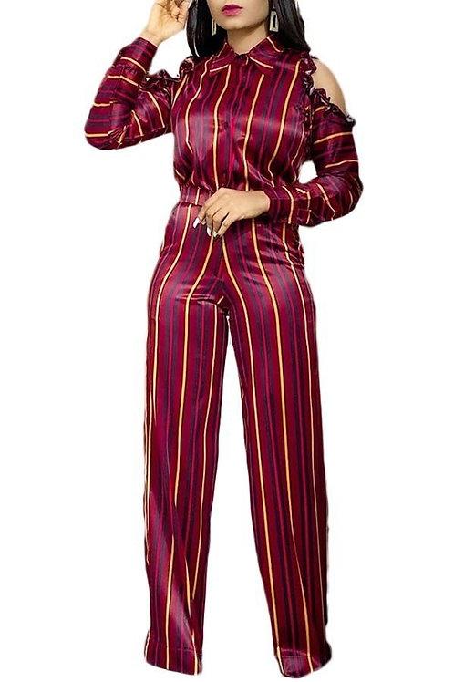 burgundy jumper