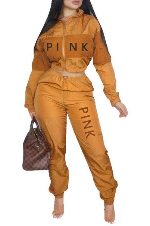 gold pant set