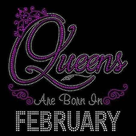 queens are born in february