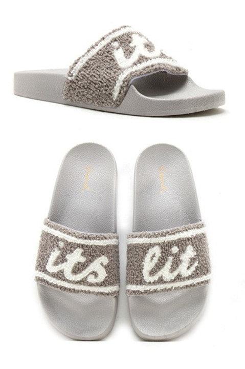 it's lit slippers