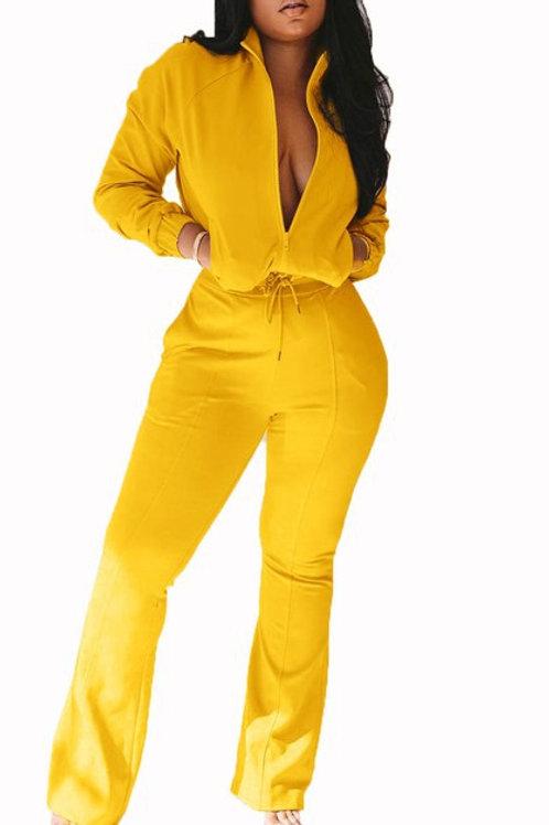 yellow jumper