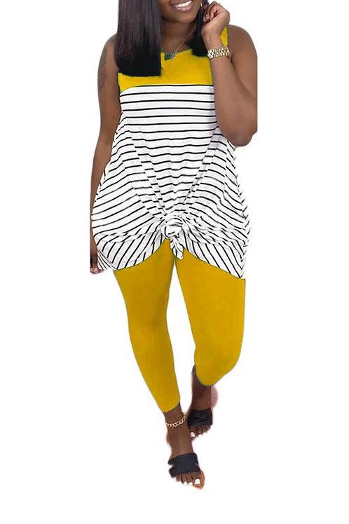 Yellow legging set