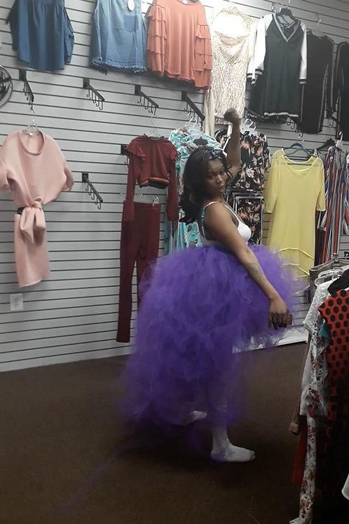 purple tutu skirt