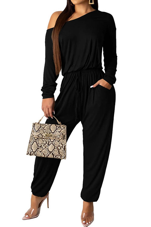 Black long sleeve jumper